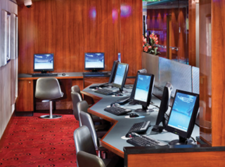 Norwegian Cruise Line Norwegian Jewel Interior Internet Cafe.jpg