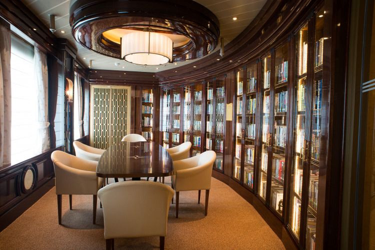 Princess Cruises Royal Class Interior library.jpg