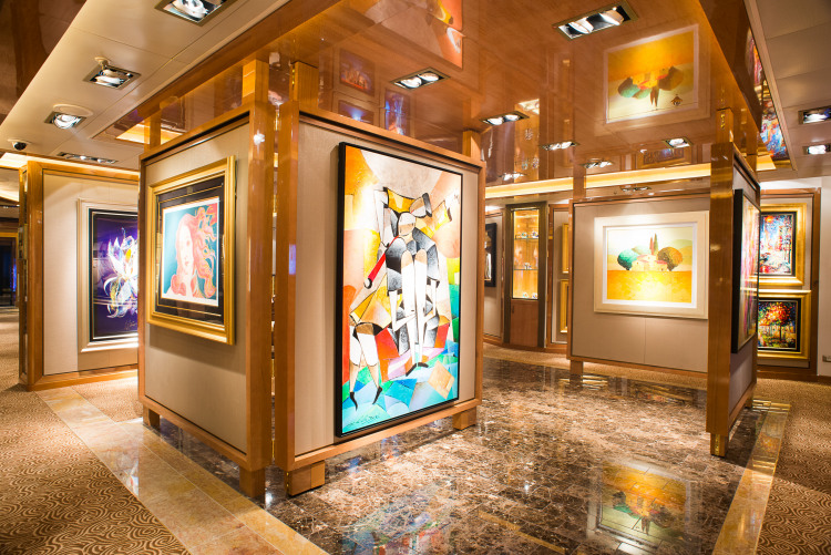 Princess Cruises Royal Class Interior art gallery.jpg