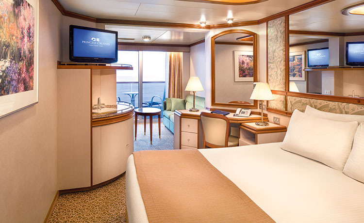 Princess Cruises Ruby Princess Accommodation Mini Suite with Balcony.jpg