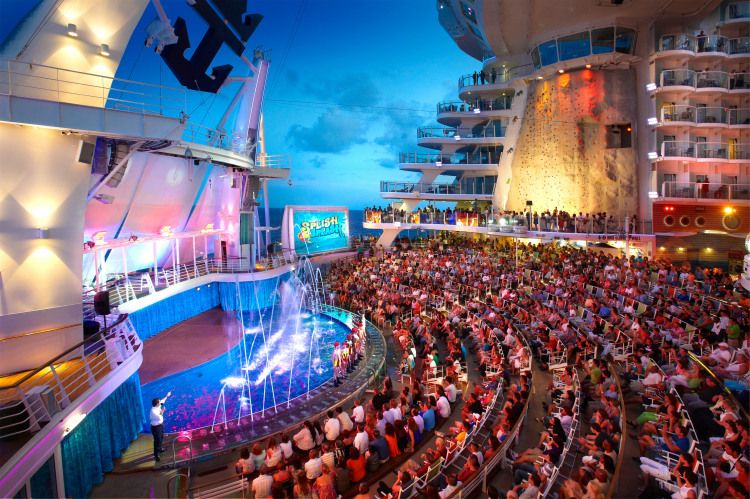 Royal Caribbean International Oasis of the Seas Interior AquaTheatre.jpg