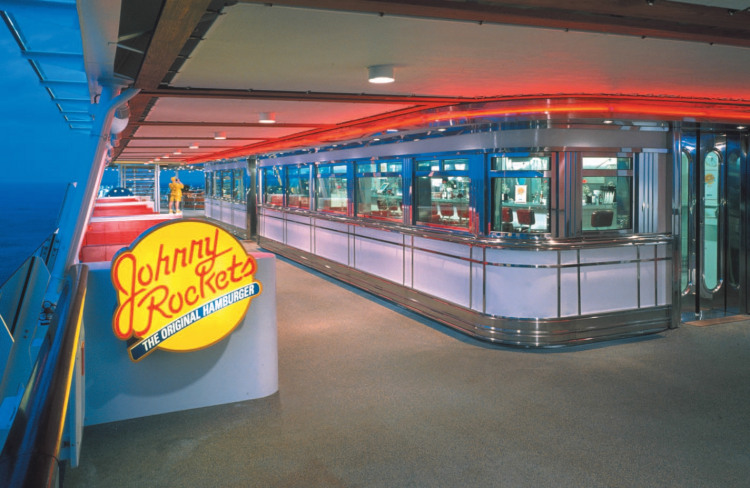 Royal Caribbean International Voyager of the Seas Exterior Johnny Rockets.jpg