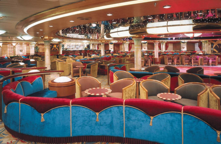 Royal Caribbean International Voyager of the Seas Interior Cleopatra Lounge.jpg