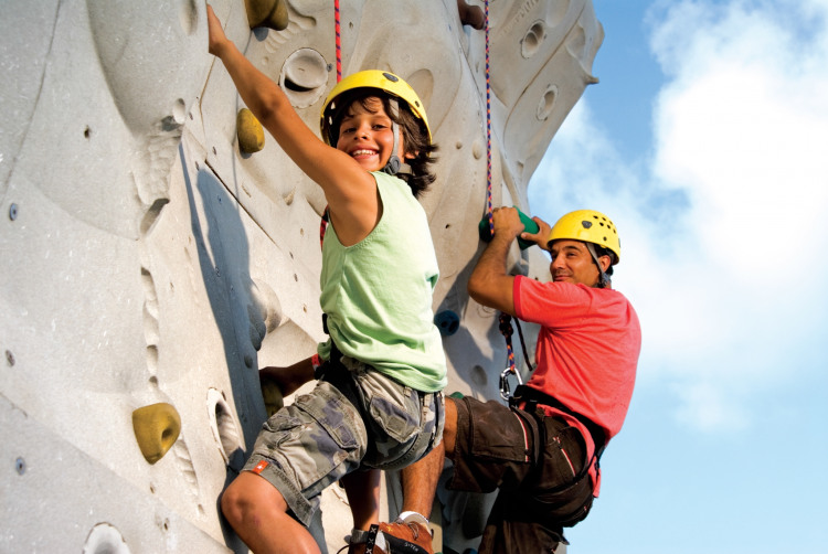 Royal Caribbean International Voyager of the Seas Exterior Rock Climbing Wall 12.jpg