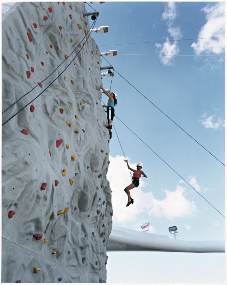 Royal Caribbean International Jewel of the Seas Exterior Women Climbing.jpeg
